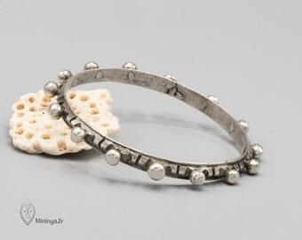 Berber bracelet, Moroccan bracelet, Berber silver, Tuareg bracelet, Berber jewelry, Berber bangle, Antique silver bangle, Ethnic bracelet