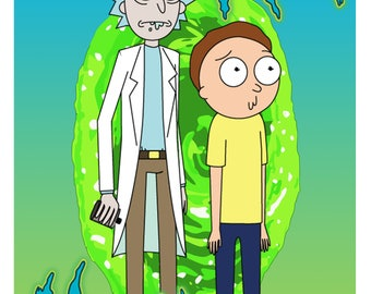 Rick and Morty Poster