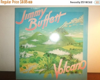 Save 30% Today Vintage 1979 LP Record Jimmy Buffett Volcano Barnaby Records 5102 Very Good Condition 11512