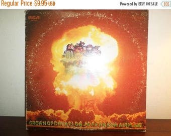 Save 30% Today Vintage 1968 LP Record Jefferson Airplane Crown of Creation Black Label Very Good Condition 11464