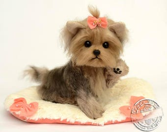 Puppy York Liya,(is possible repeat to order) Teddy York ,Toy ,Terrier ,dog ,plush dog,plush toy,teddy