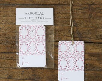 Red and White Gift Tags (original retail 6.50)