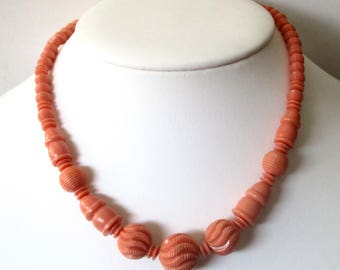 16-Inch Vintage Celluloid Choker/Necklace