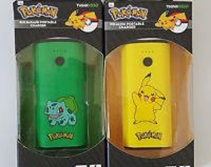 ThinkGeek Pokemon Portable Chargers