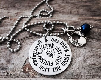 Angel Necklace - Pregnancy Loss Necklace - Baby Loss Jewelry - Miscarriage Necklace - Angel Necklace - Memorial Necklace