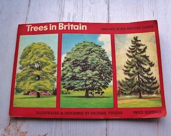 Full set Trees in Britain booklet  Brooke Bond Tea cards,