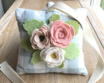 Felt Flower Tooth Fairy Pillow perfect a little loose tooth