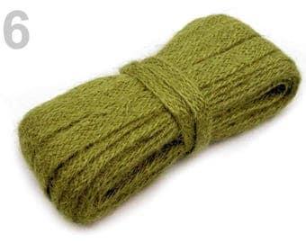 3 M string just flat 11 mm Green sisal