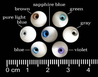 7 pairs with free shipping! Doll eyes 8mm, 3 mm iris. Urethane small BJD 3mm RESIN doll eyes. BJD doll Handmade tiny bjd realistic eyes