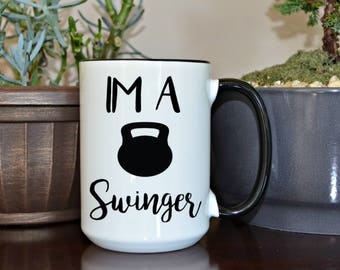 Crossfit Mug, Crossfit Gift, Funny Mugs, Custom Mugs, Funny Coffee Cup, Home and Living, Kitchen and Dining, Mugs