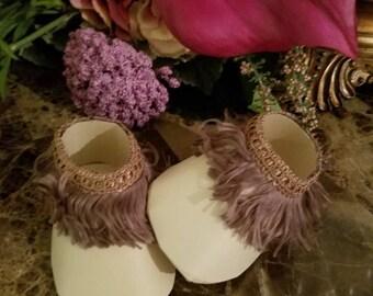 Baby Moccasin Shoe Favors / Moccasin Shower Favors