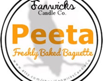 Hunger Games Inspired Fandom Candle - Peeta 4 oz
