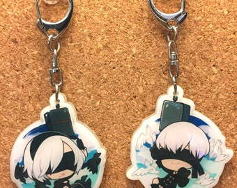 Nier Automata 2in Charms