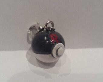 Cute Rocket Pokeball Charm