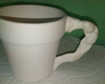 Cup with Tulip Handle