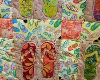 twin size flip flop quilt