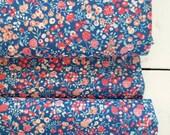 Memoire a Paris Cotton Lawn Spring 2018 - Berries(Dark Blue) - Lecien - Japan, Inc