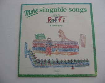 Raffi - More Singable Songs - Circa 1977