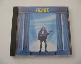 AC DC - Who Made Who - Circa 1986  (CD)