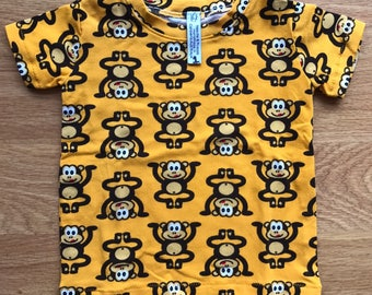 Boys monkey t-shirt, available in size 1