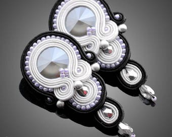 Soutache earrings Chloe No. 05