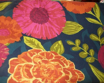 Per Yard Modern Floral Upholstery fabric, Robert Allen Fabric for upholstery projects, valances
