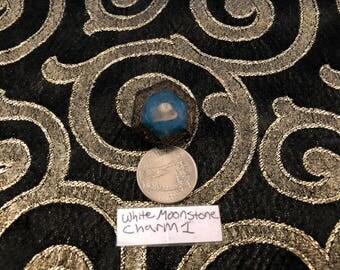 White Moonstone Orgonite Charm #1