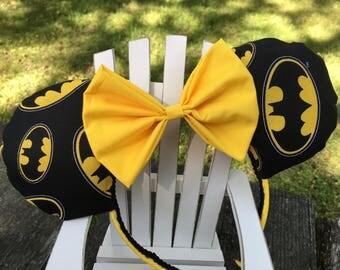 Ready to Ship Batman Mickey Ears
