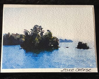 Lake George cards