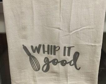 Flour sack dish towel