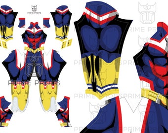 All Might Costume Pattern