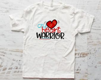 CHD Heart Warrior Shirt, Heart Warrior Bodysuit, CHD, Warrior, Shirt