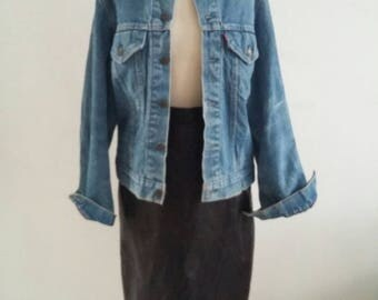 vintage lined levi jacket