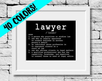 Lawyer Definition, Lawyer Print, Lawyer Quote, Lawyer Gift, Lawyer Prints, Lawyer Gifts, Lawyer Quotes, Gifts for Lawyers, Lawyer, Attorney