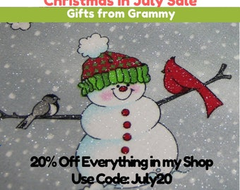 CHRISTMAS in JULY SALE  Gifts from Grammy Use Code: JULY20