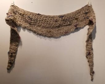 Natural Fiber Country Scarf
