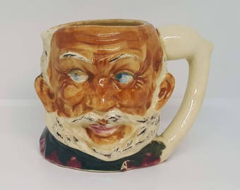 Antique Toby Jug - John Falstaff - John Falstaff Toby Jug - Suvesco - Character Jug - Toby Jug - Vintage - Retro - Collectables
