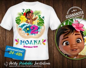 Moana Birthday Shirt, Moana Birthday Shirt Girl, Moana Birthday Shirt Iron On, Moana Birthday Shirt Baby, Moana Birthday Shirt Printable