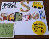 Back to School mixed title & accents