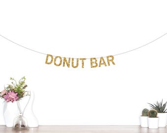 Donut Grow Up Banner, Birthday Banner, Doughnut Banner, Donut Grow Up Garland, Birthday Garland, Donut Grow Up, Donut Party, Donut Bar