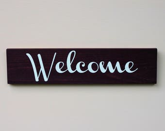 DIY Welcome Sign Kit, DIY Wooden Sign, Home Decor Crafts, DIY Home Decor, Gift Ideas for Her, Wall Decor