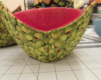 Microwavable Bowl Cozy handmade