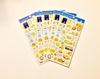 sumikko gurashi san-x character Sticker sheet