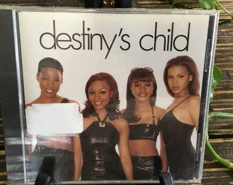 New Sealed Vintage 1997-98  CD  Destinys Child Second Nature 13 Songs
