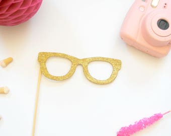 Glitter Eye Glasses Photo Booth Prop