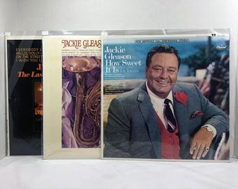 Jackie Gleason records Lot of 3 LPs Vinyl VG+