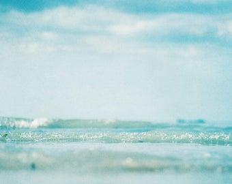 Ocean Photo Print, large size wall art, ocean photography, sea print, nautical, bohemian, zen, waves, water, beach, coastal, modern