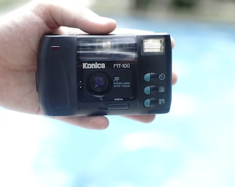 Konica MT-100 - nice little film compact camera