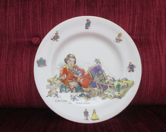 Gulliver's Travels Plate/Early Film Merchandise/Hammersley/Early 1940's  #18025