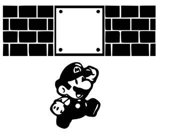 Mario Blocks SVG File!
